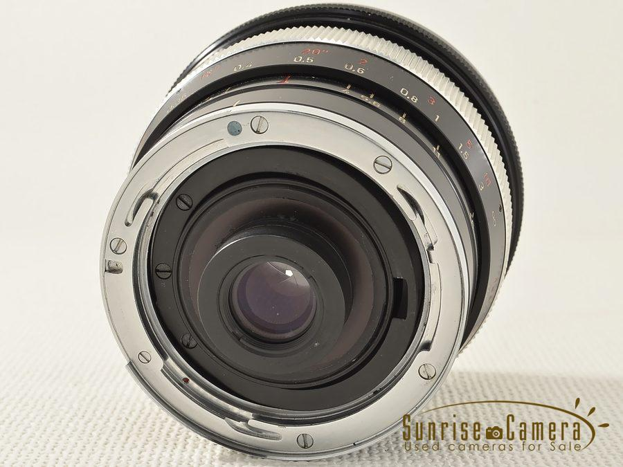 Carl Zeiss (カールツァイス) Distagon 18mm F4 Contarex用