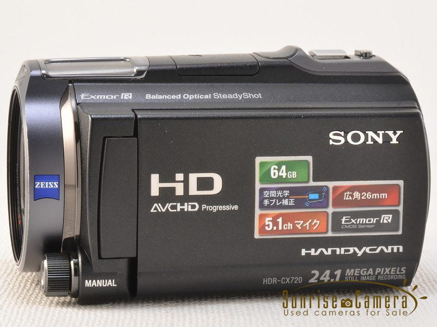 SONY (ソニー) HDR-CX720V Carl Zeiss T*レンズ