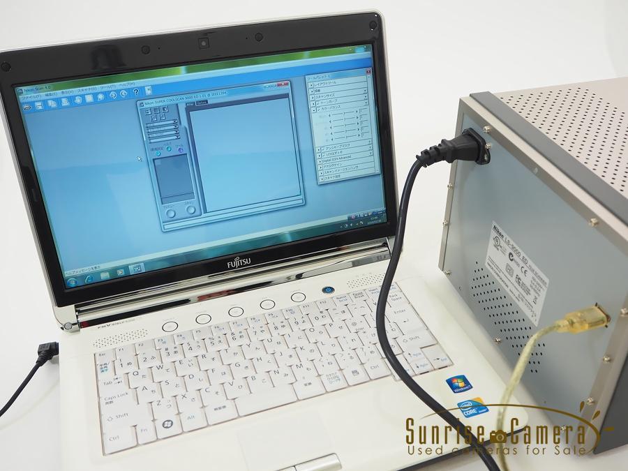 SUPER COOLSCANLS-9000 ED 豪華付属品+適用ソフト内臓PC付