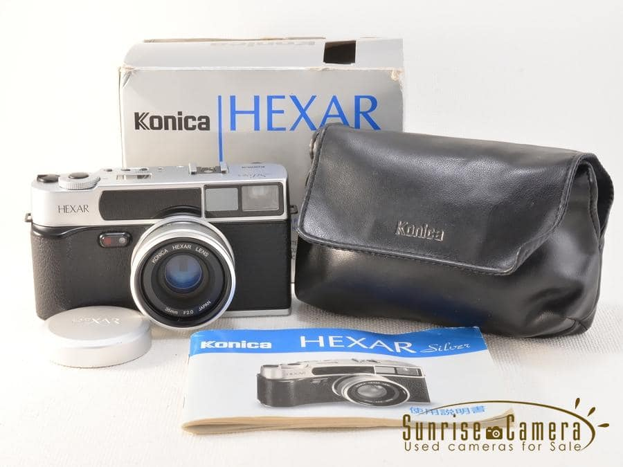 Konica (コニカ) Hexar 35mm F2