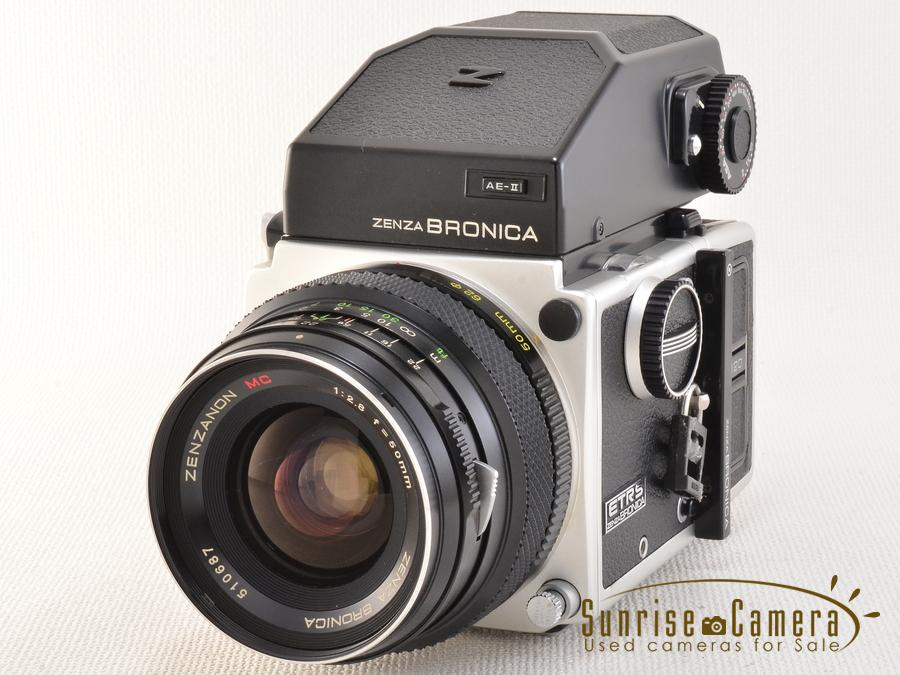 BRONICA (ブロニカ) ETR-S AE?ファインダー 75mm F2.8