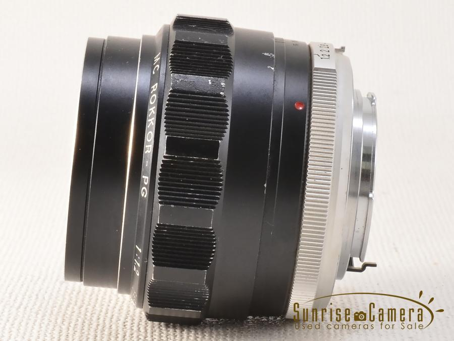 MINOLTA (ミノルタ) MC ROKKOR-PG 58mm F1.2 整備済