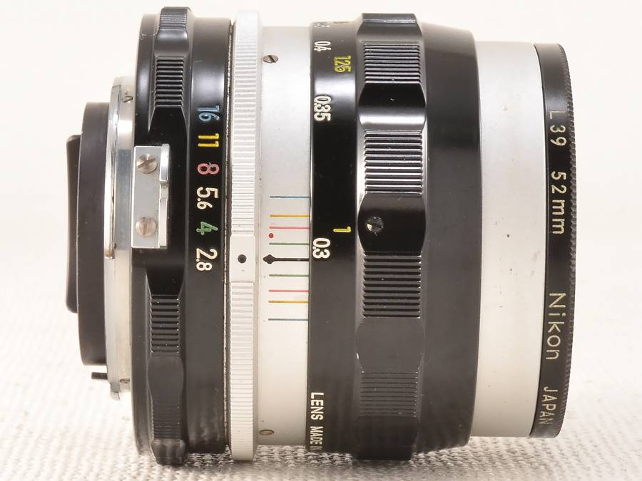 Nikon (ニコン) NIKKOR-S Auto 35mm F2.8 非Ai